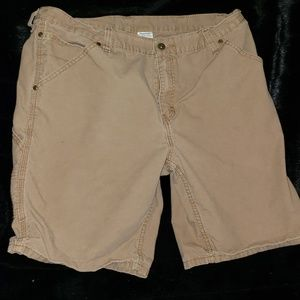 Carpenter shorts khaki size 38